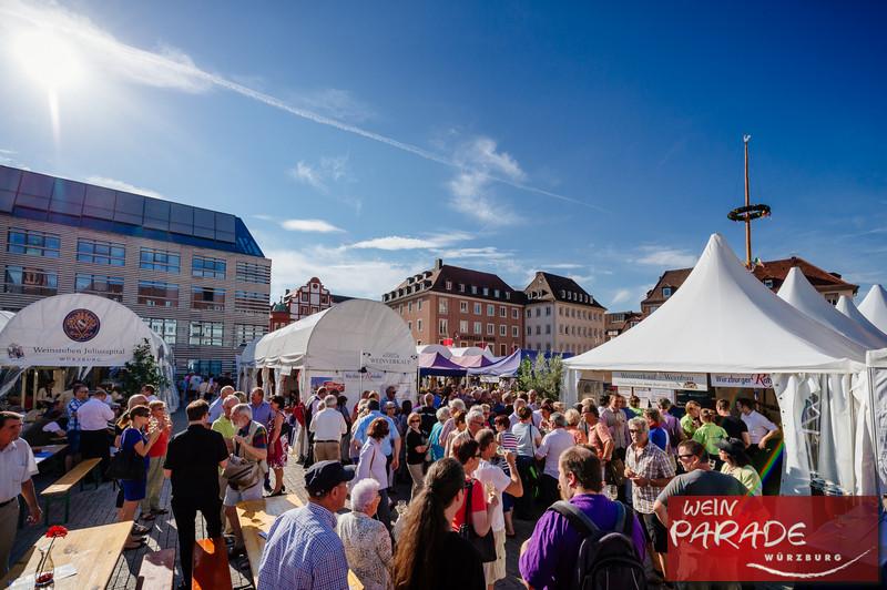 Weinfest Würzburg Weinparade Eröffnung