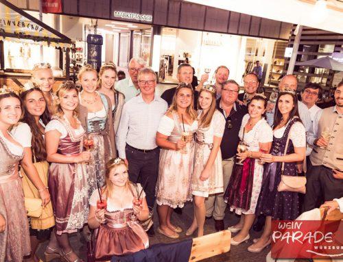 Auf zur 16. Weinparade vom 22. August bis 1. September in Würzburg